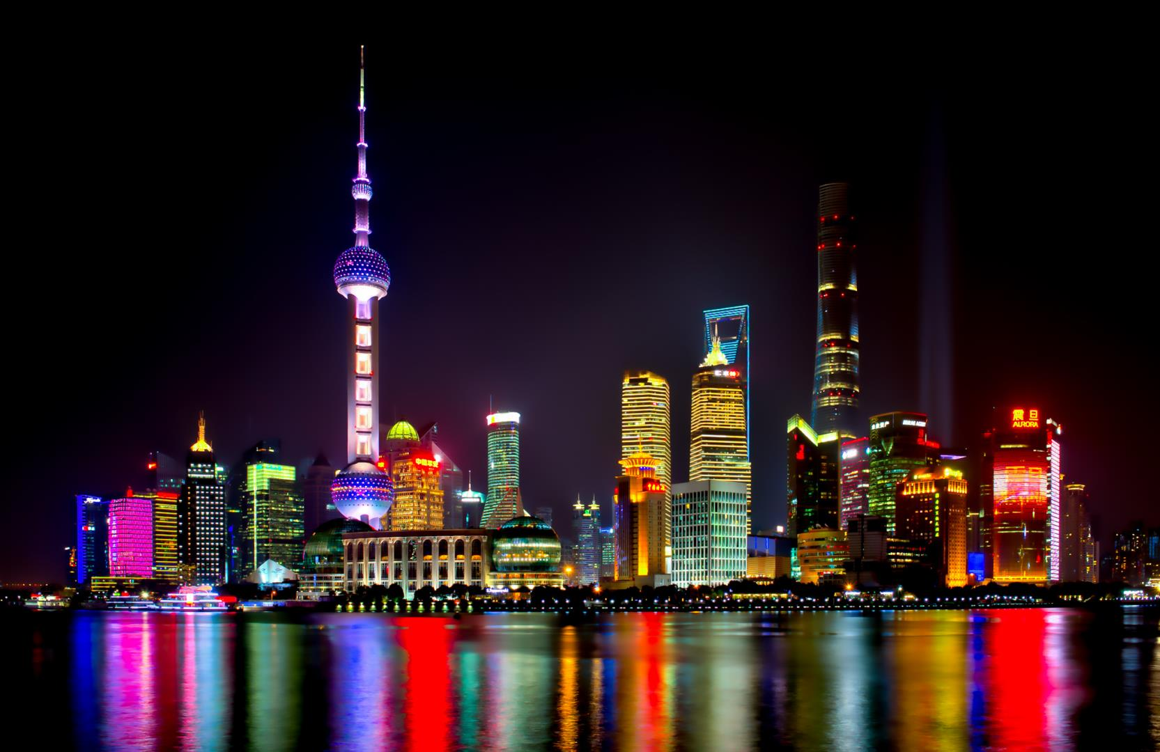 The Shanghai Skyline